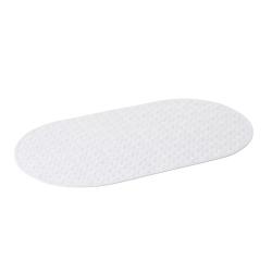 Alfombra bañera/ducha antideslizante blanco