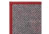 Alfombra pasillera pop roja de bambú de 60 x 90 cm Iris