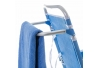 Silla con brazos para playa pop de aluminio azul Garden