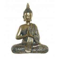 Figura buda de suerte resina decoracion 37 cm