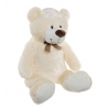 Peluche oso grande poliester beige de 60 cm