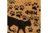 Felpudo de gato de fibra de coco de 60x40 cm
