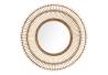 Espejo sol natural de bambú, exótico, de Ø 80x6 cm