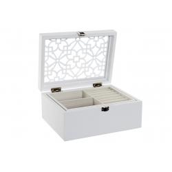 Joyero madera blanco provenzal para dormitorio