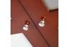 Tapa de contadores con cuelgallaves marrón madera entrada Bretaña
