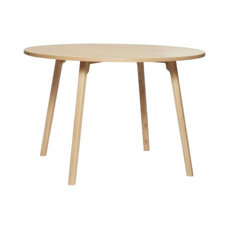 Mesa de Comedor Redonda madera roble naturaleza