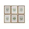 Conjunto de cuadros cristal laminas con marco de madera 35x45 cm