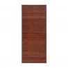 Alfombra pasillera industrial marrón de bambú de 75 x 175 cm Factory