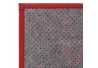 Alfombra pasillera pop roja de bambú de 75 x 175 cm Iris