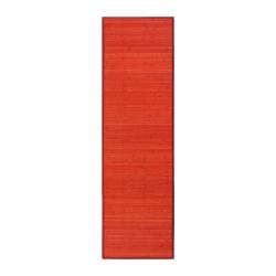 Alfombra pasillera provenzal lila de bambú de 60 x 200 cm France