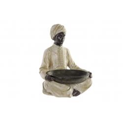 Figura resina colonial color beige
