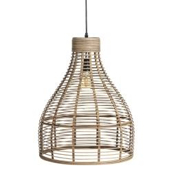 Lámpara de Techo de bambu natural 40x50 cm