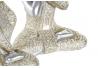 Set 3 figurita buda de suerte decoracion 19 cm (ver , oir , callar )