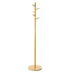 Perchero árbol nórdico natural de madera MDF, de ø 40x182 cm