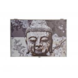 Tapa de contador diseño oriental buda gris