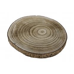 Centro de mesa madera paulownia tronco 30 cm