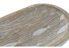 Bandeja vaciabolsillos de madera mango tallado a mano peces decape