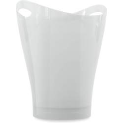Papelera garbino color blanco polipropileno 9 L