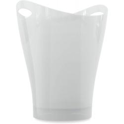 Papelera garbino color blanco polipropileno 9 L
