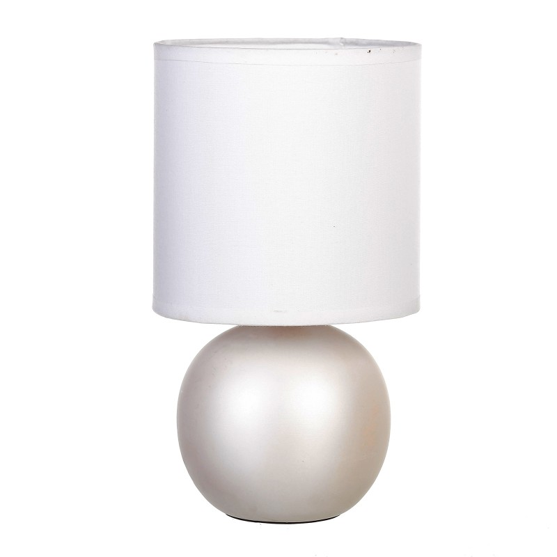 L mpara para mesita de noche moderna cobre de cer mica for Lamparas de ceramica