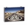 Tapa de contador autopista ROUTE 66 cielo azul