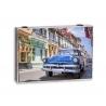 Tapa de contador CUBA coche azul