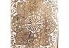 Caja de Llaves Blanca de Madera romántica para la Entrada Arabia