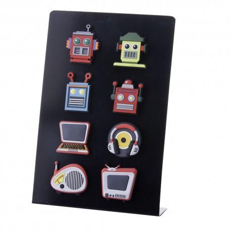 Imanes de nevera original de goma (ELECTRONIC ) PACK DE 8 IMANES