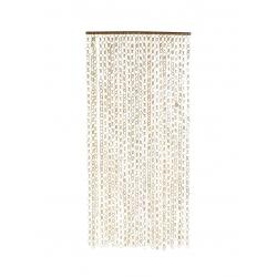 Cortina de fibra natural para casa 90x5x205 cm
