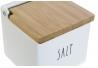 Salero dolomite de cocina con diseño frases SALT .