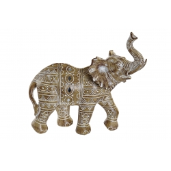 Figura elefante resina 23x10x22 cm