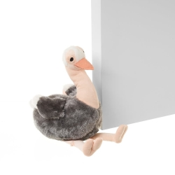 Tope de puerta avestruz 29x13x28 cm