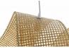 Lámpara de techo bambu natural de Ø 90x30x30 cm