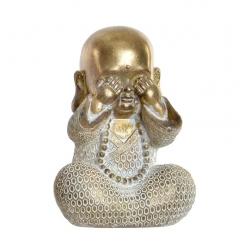 Figurita buda de suerte decoracion 16 cm ( ver )