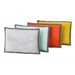 Pack 4u esponja microfibra rengo para cocina y baño