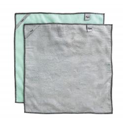 Pack 2u bayeta microfibra multiuso rengo para cocina y baño