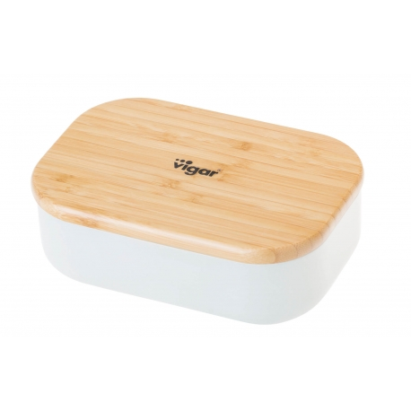 Portacomidas contenedor de alimentos taula bambu 1025 ML.