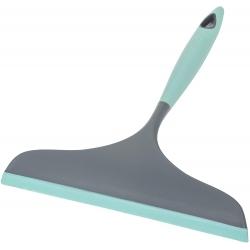 Limpiamamparas para Ducha de Color, Gris Y Turquesa