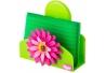Portaesponja flower power con esponja