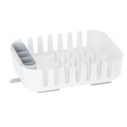 Escurreplatos y Escurrecubiertos rengo de Plastico, ABS, Blanco
