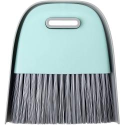Recogedor de Mano con Cepillo Incorporado de Color Turquesa