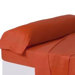 Juego de sábanas de cama 135 clásico rojo de algodón / poliéster Basic