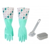Set Limpieza Essential incluye Lavaplatos, Esponja y Guantes