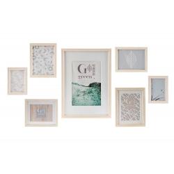 Set 7 marco foto para pared scandi