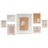 Set 7 marco foto para pared scandi portafotos multiple tamaño