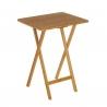 Mesa Plegable cocina bambu natural 50x38x65 cm ideal para cocina