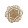 Alfombra de fibra natural seagrass estrella para dormitorio de 150 cm