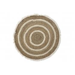 Alfombra fibra maiz seagrass 83x83 cm