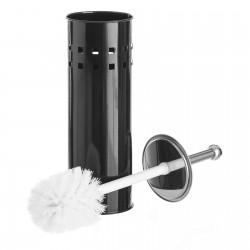 Escobillero negro metal calidad 10 x 10 x 39 cm .