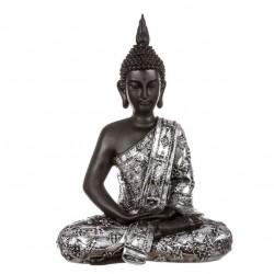 Figura buda de suerte sentado resina 30 cm decoracion